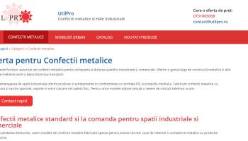 utilpro.ro - Confectii metalice